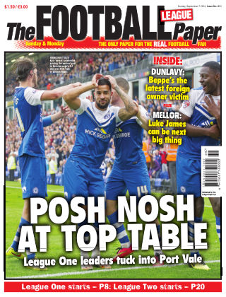 The Football League Paper 7th September 2014