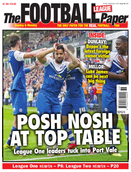 The Football League Paper September 07, 2014 00:00