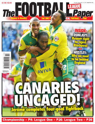 The Football League Paper 14th September 2014