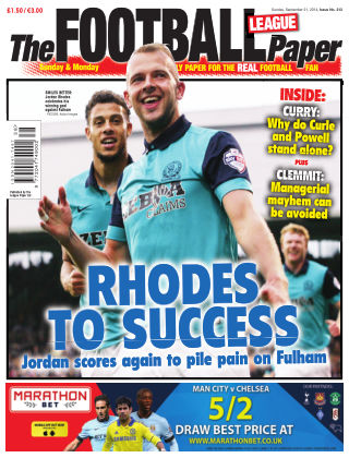 The Football League Paper 21st September 2014