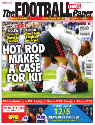 The Football League Paper 28th September 2014