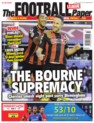 The Football League Paper 26th October 2014