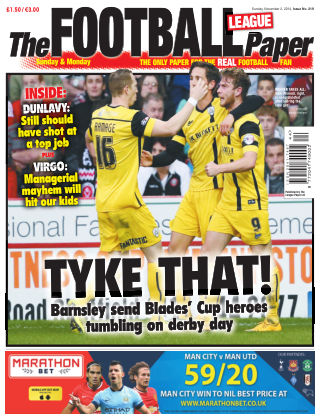 The Football League Paper 2st November 2014