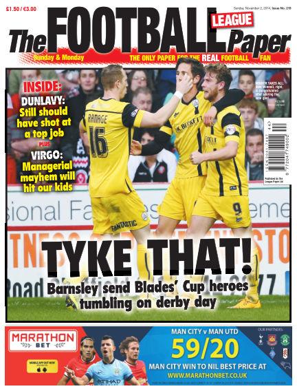 The Football League Paper November 02, 2014 00:00
