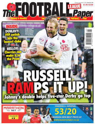 The Football League Paper 9th November 2014