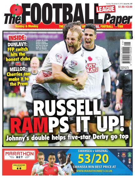 The Football League Paper November 09, 2014 00:00
