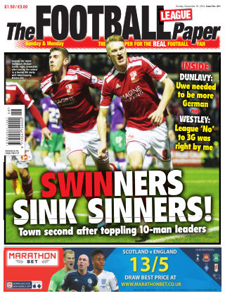 The Football League Paper 16th November 2014
