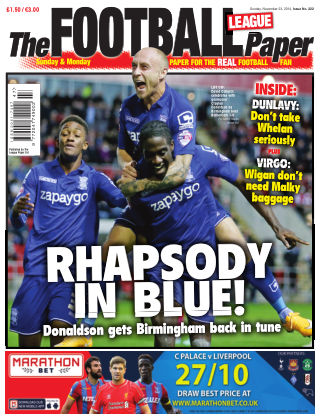 The Football League Paper 23rd November 2014