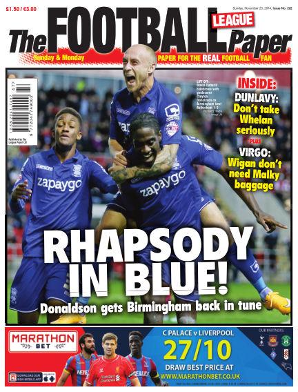 The Football League Paper November 23, 2014 00:00