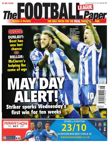 The Football League Paper November 30, 2014 00:00