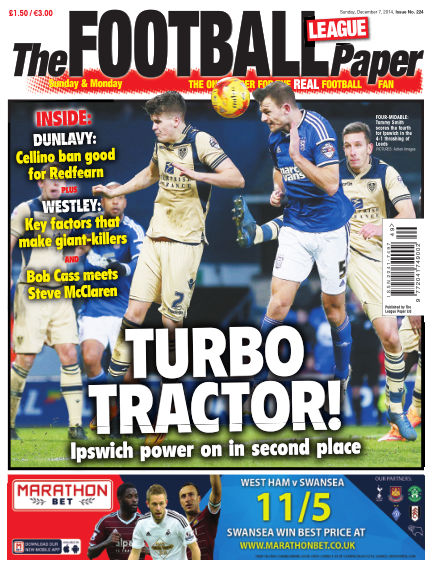 The Football League Paper December 07, 2014 00:00