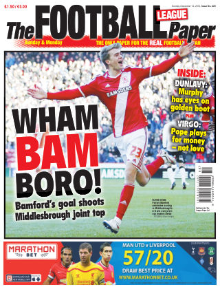 The Football League Paper 14th December 2014