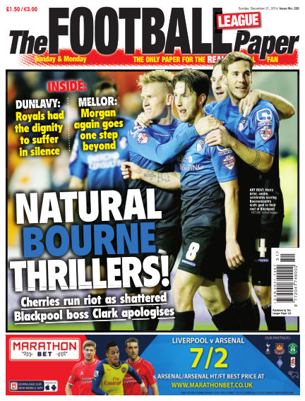 The Football League Paper December 21, 2014 00:00