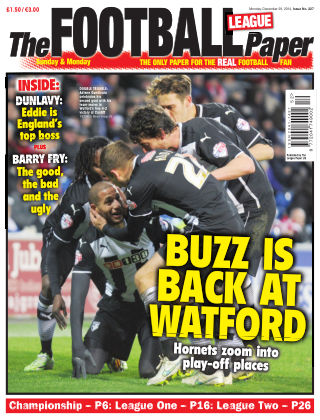 The Football League Paper 28th December 2014