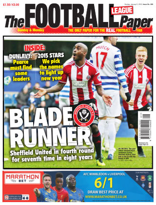 The Football League Paper 5th January 2015