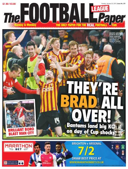 The Football League Paper January 25, 2015 00:00