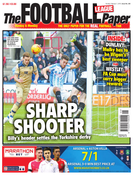 The Football League Paper February 01, 2015 00:00