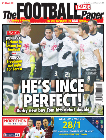 The Football League Paper February 08, 2015 00:00
