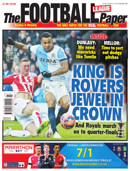 The Football League Paper February 15, 2015 00:00