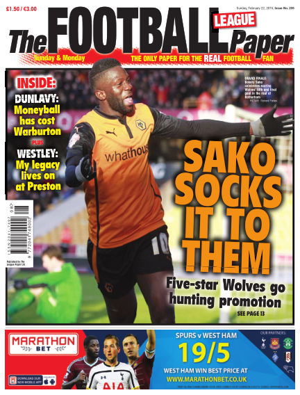 The Football League Paper February 22, 2015 00:00