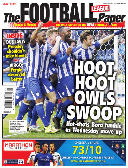 The Football League Paper March 01, 2015 00:00