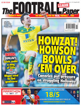 The Football League Paper 8th March 2014