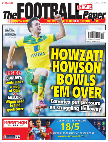 The Football League Paper March 08, 2015 00:00