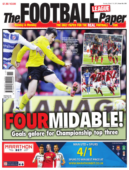 The Football League Paper March 15, 2015 00:00