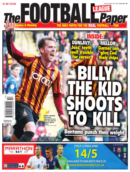 The Football League Paper March 29, 2015 00:00