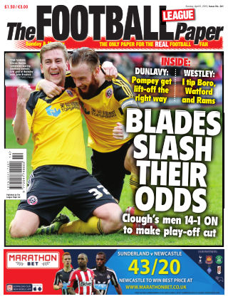 The Football League Paper 5th April 2015
