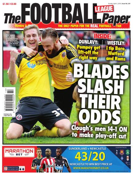 The Football League Paper April 05, 2015 00:00