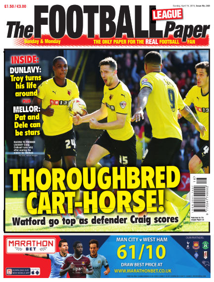 The Football League Paper April 19, 2015 00:00
