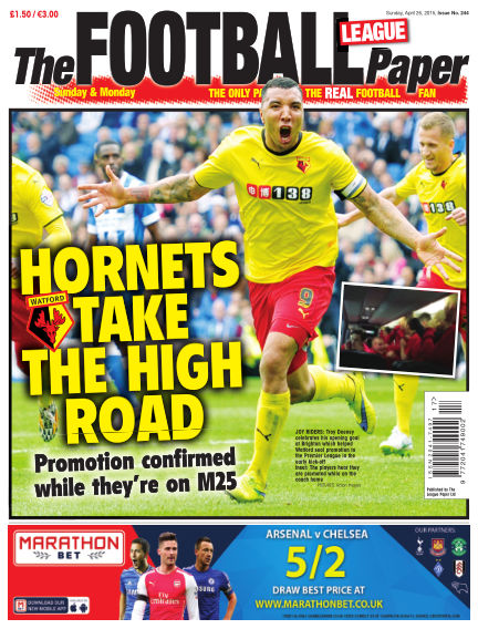 The Football League Paper April 26, 2015 00:00