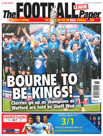 The Football League Paper May 03, 2015 00:00