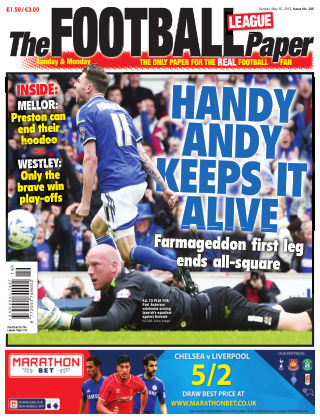 The Football League Paper 10th May 2015