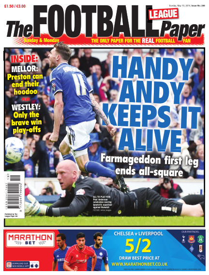 The Football League Paper May 10, 2015 00:00