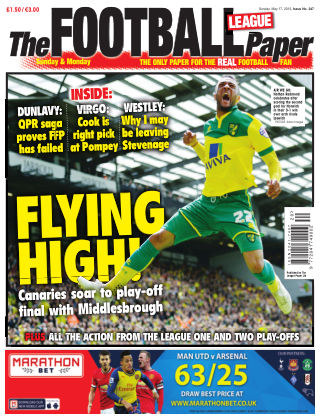 The Football League Paper 17th May 2015