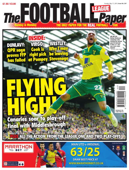 The Football League Paper May 17, 2015 00:00