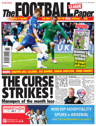 The Football League Paper 6th September 2015