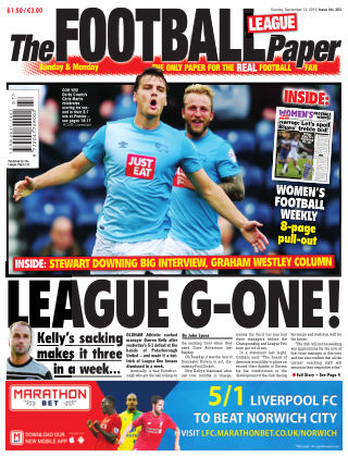 The Football League Paper 13th September 2015