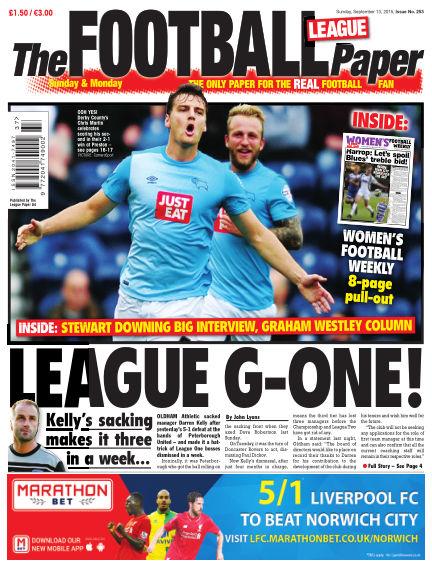 The Football League Paper September 13, 2015 00:00