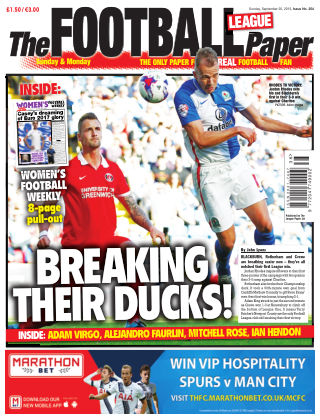 The Football League Paper 20th September 2015