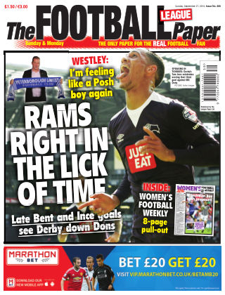 The Football League Paper 27th September 2015