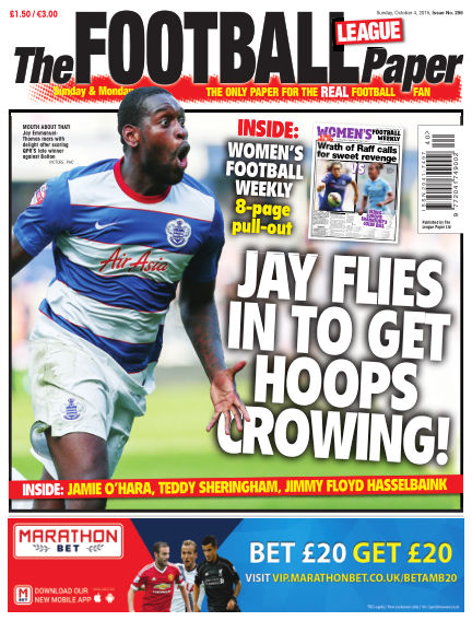 The Football League Paper October 04, 2015 00:00
