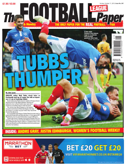 The Football League Paper October 11, 2015 00:00