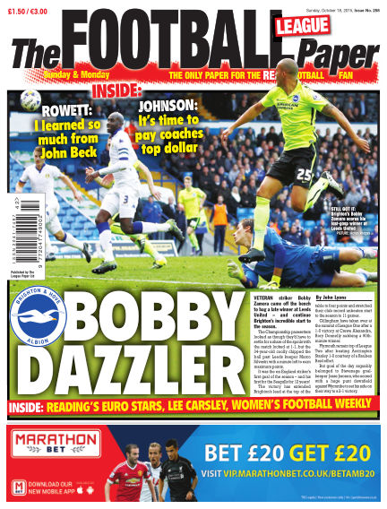 The Football League Paper October 18, 2015 00:00