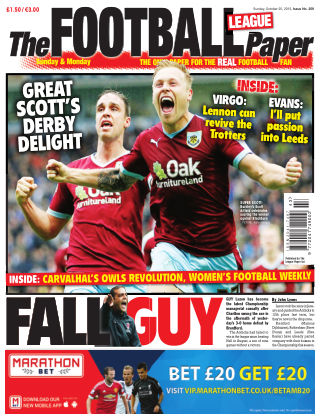 The Football League Paper 25th October 2015