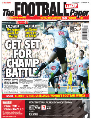 The Football League Paper 1st November 2015