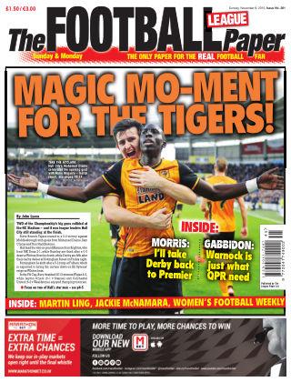The Football League Paper 8th November 2015
