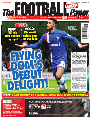 The Football League Paper 15th November 2015